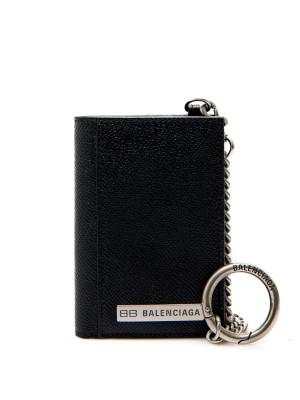 Balenciaga Balenciaga plate ve co wallet