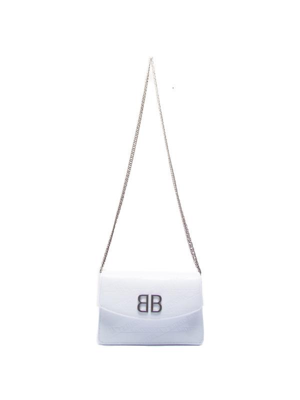 Balenciaga handb shoulderstrap wit