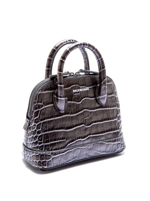 Balenciaga handb shoulderstr grijs