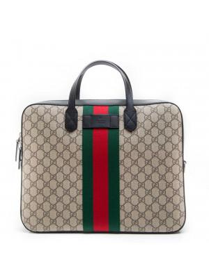 Gucci  BRIEF CASE WITH REMOVABL