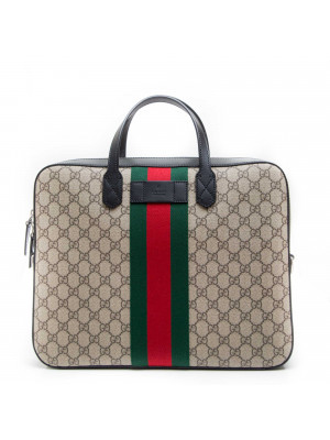 Gucci  BRIEF CASE WITH REMOVABL