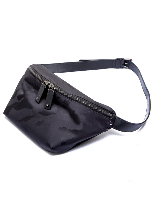 Valentino Garavani waist satchel zwart