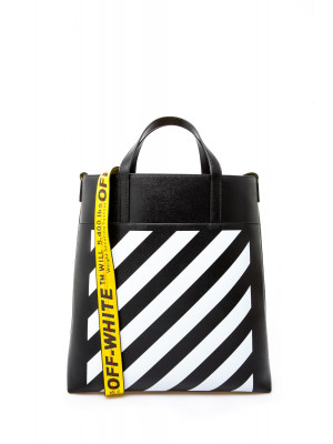 Off White Off White diag leather tote