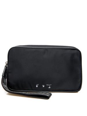 Off White Off White logo nylon pouch bag