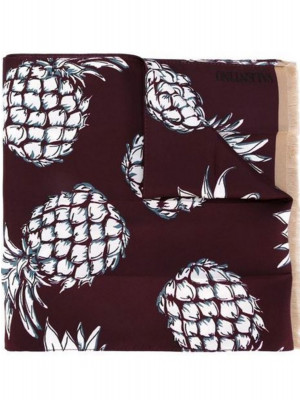 Valentino Garavani Valentino Garavani ananas hawaii shawl