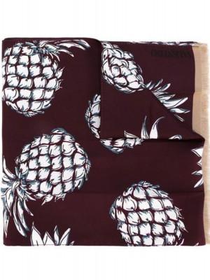 Valentino Valentino ananas hawaii shawl