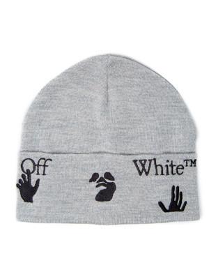 Off White Off White ow logo beanie black