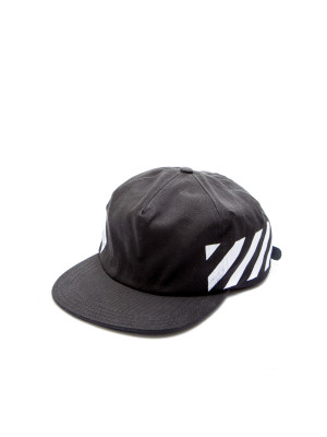 Off White  DIAG BRUSHED CAP