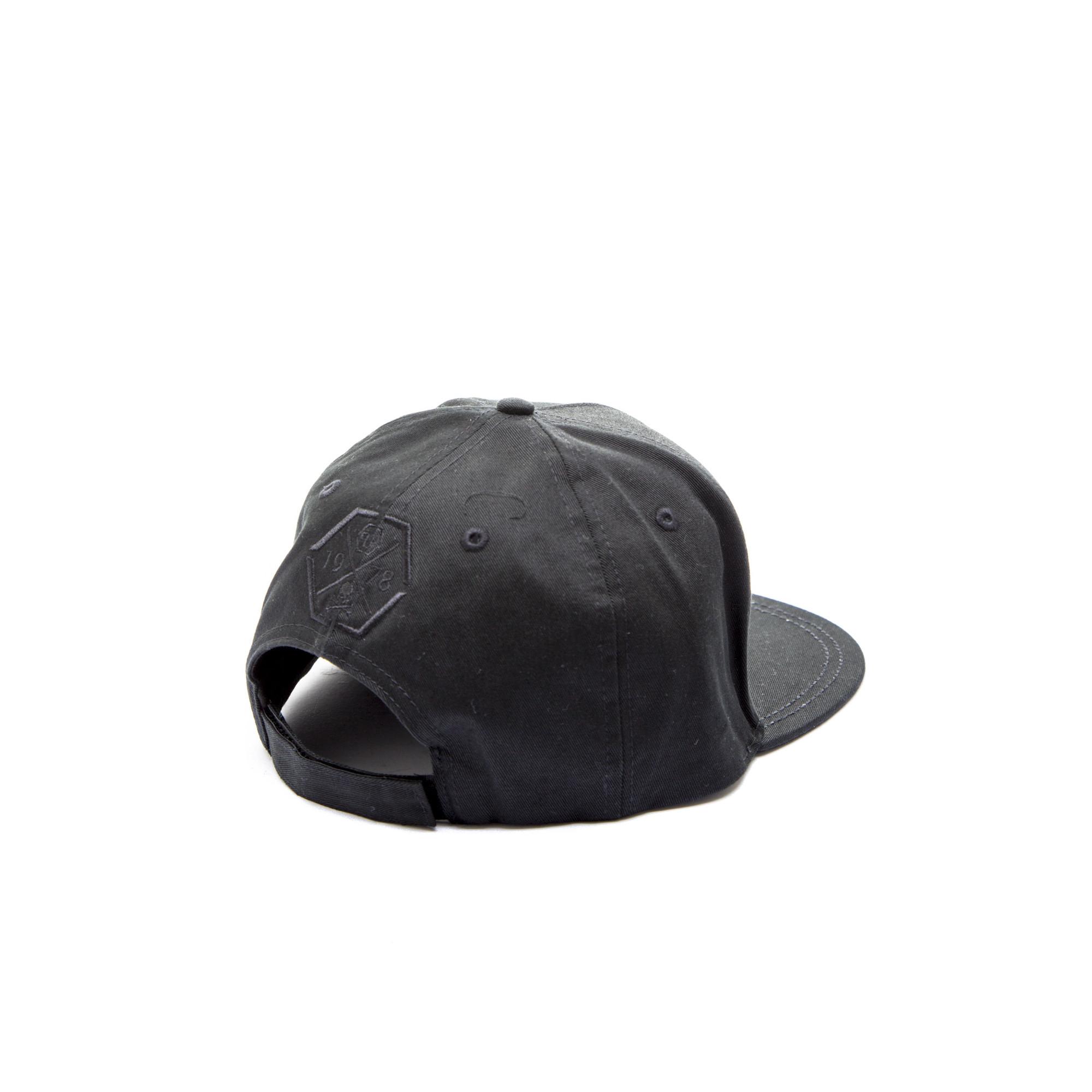 philipp plein baseball cap palm bay zwart. Black Bedroom Furniture Sets. Home Design Ideas