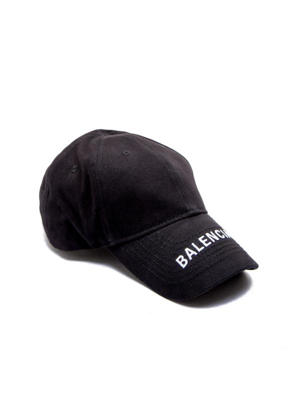 Balenciaga hat balenciaga logo zwart
