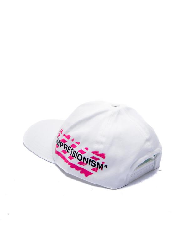 Off White stencil baseball cap wit