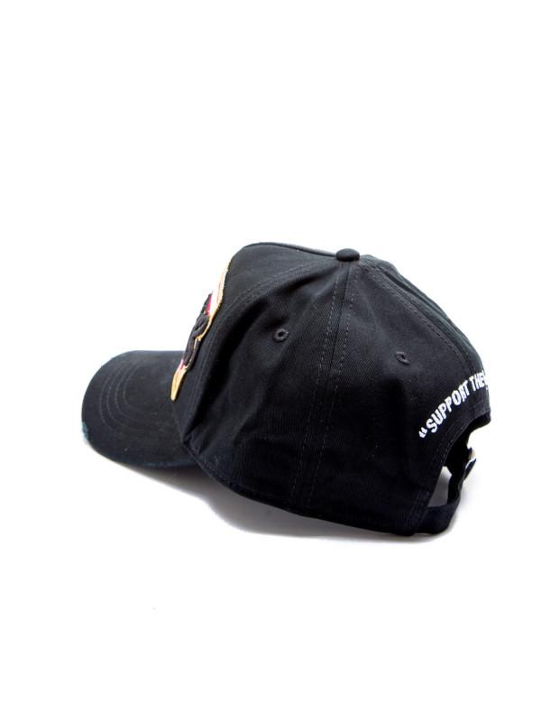 2a83a7fd808f6 Dsquared2 Baseball Cap Dsq2 Zwart