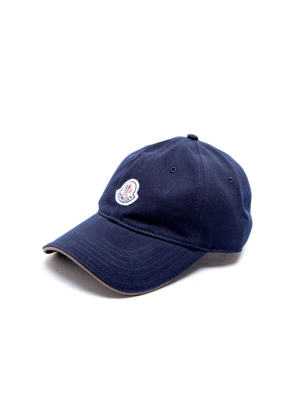 5fd7296831a7b Moncler Berretto Baseball Blauw
