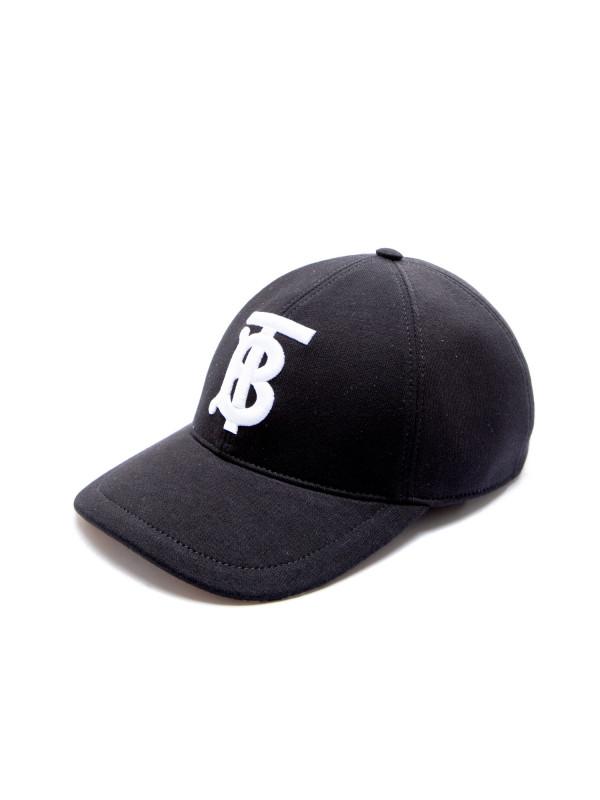 f4908c79118b4 Burberry Jersey Baseball Cap Zwart
