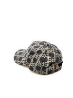 Balmain monogram cap zwart