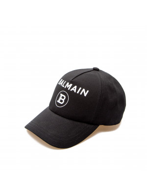 Balmain balmain logo cap