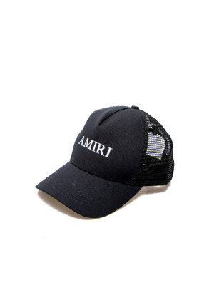 Amiri Amiri logo trucker hat