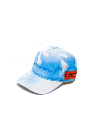 Heron Preston  Heron Preston  logo hat blue