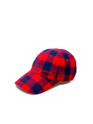Balenciaga Balenciaga hat flannel cap red