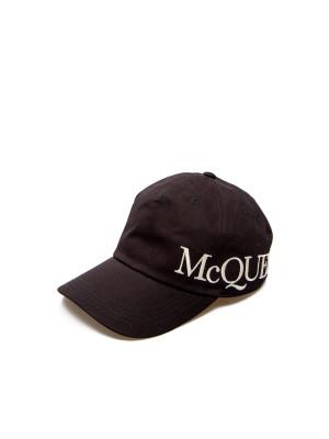 Alexander Mcqueen Alexander Mcqueen hat oversize mcqueen black