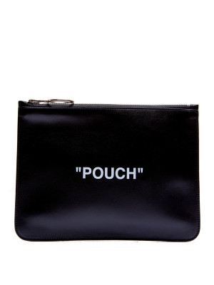 Off White Off White quote flat pouch
