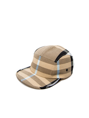 Burberry Burberry canvas chk headwear