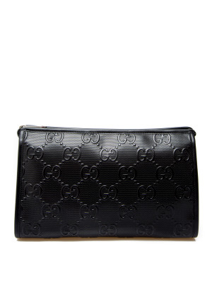 Gucci Gucci beauty case gg leather