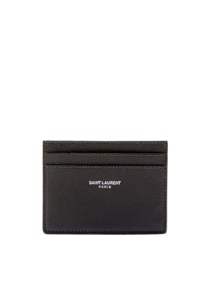 Saint Laurent Paris Saint Laurent Paris YSL CREDIT CARD CASE groen Accessoires Men