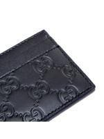 Gucci credit cards case (805) zwart