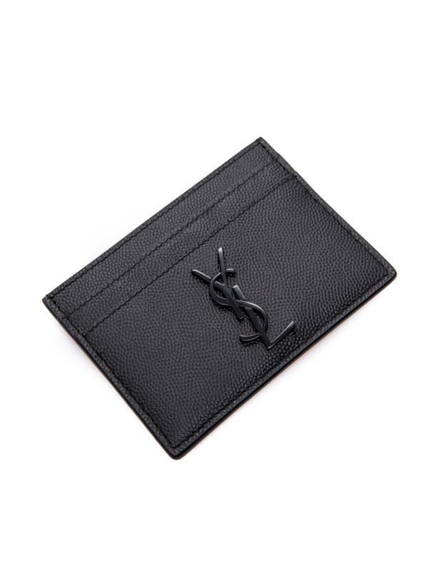 94f3bb3b Saint Laurent ysl credit card holder 172 black485631 / bty0u / 1000