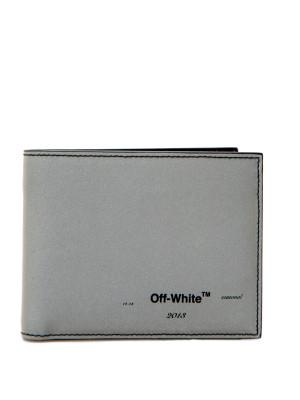 Off White Off White logo bifold wallet