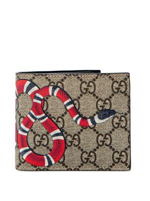 Gucci Gucci bestiary man wallet 171m