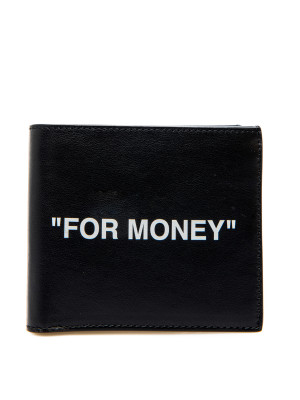 Off White Off White quote bifold wallet