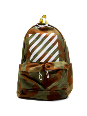Off White  DIAG CAMOU BACKPACK