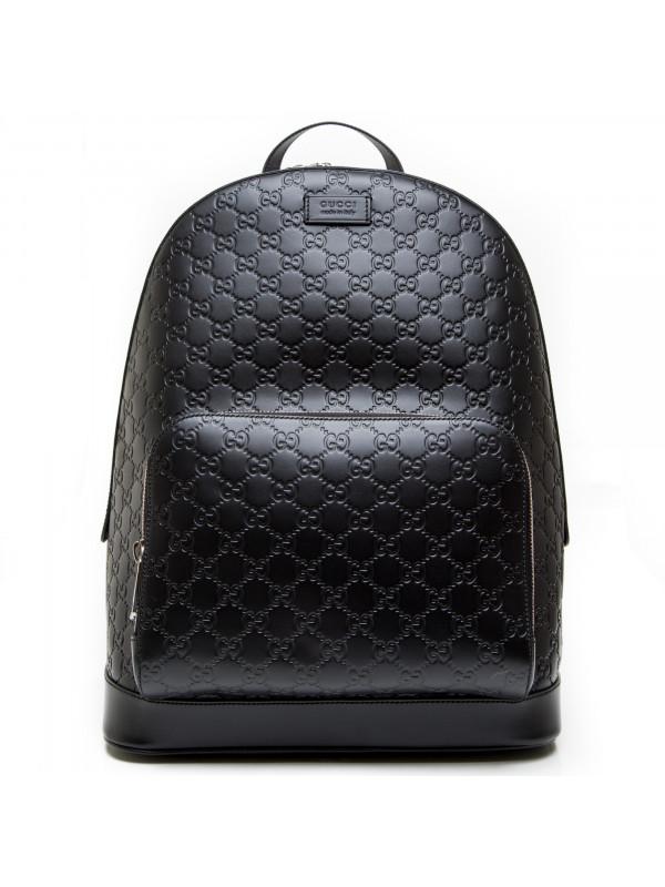 b1f8df0a5667f8 Gucci Backpack Gucci Signature Black | Derodeloper.com
