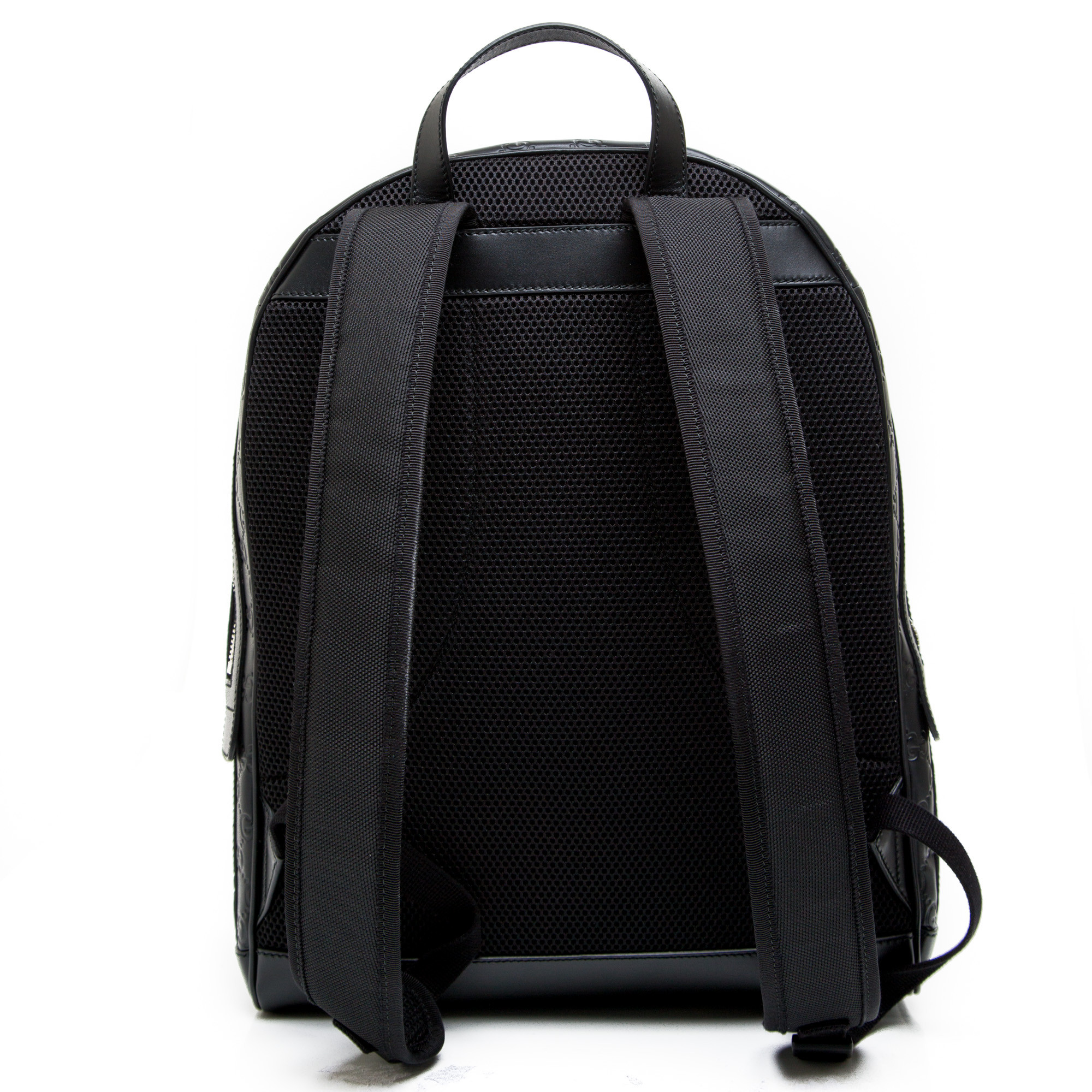 db6db4c2fb ... Gucci backpack gucci signature zwart ...