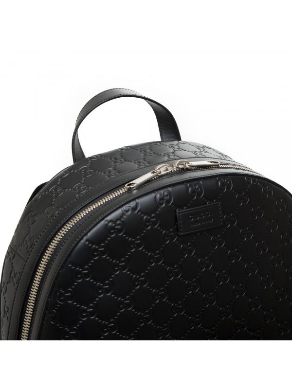 Gucci backpack gucci signature zwart