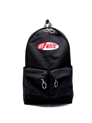 Off White Off White split logo backpack