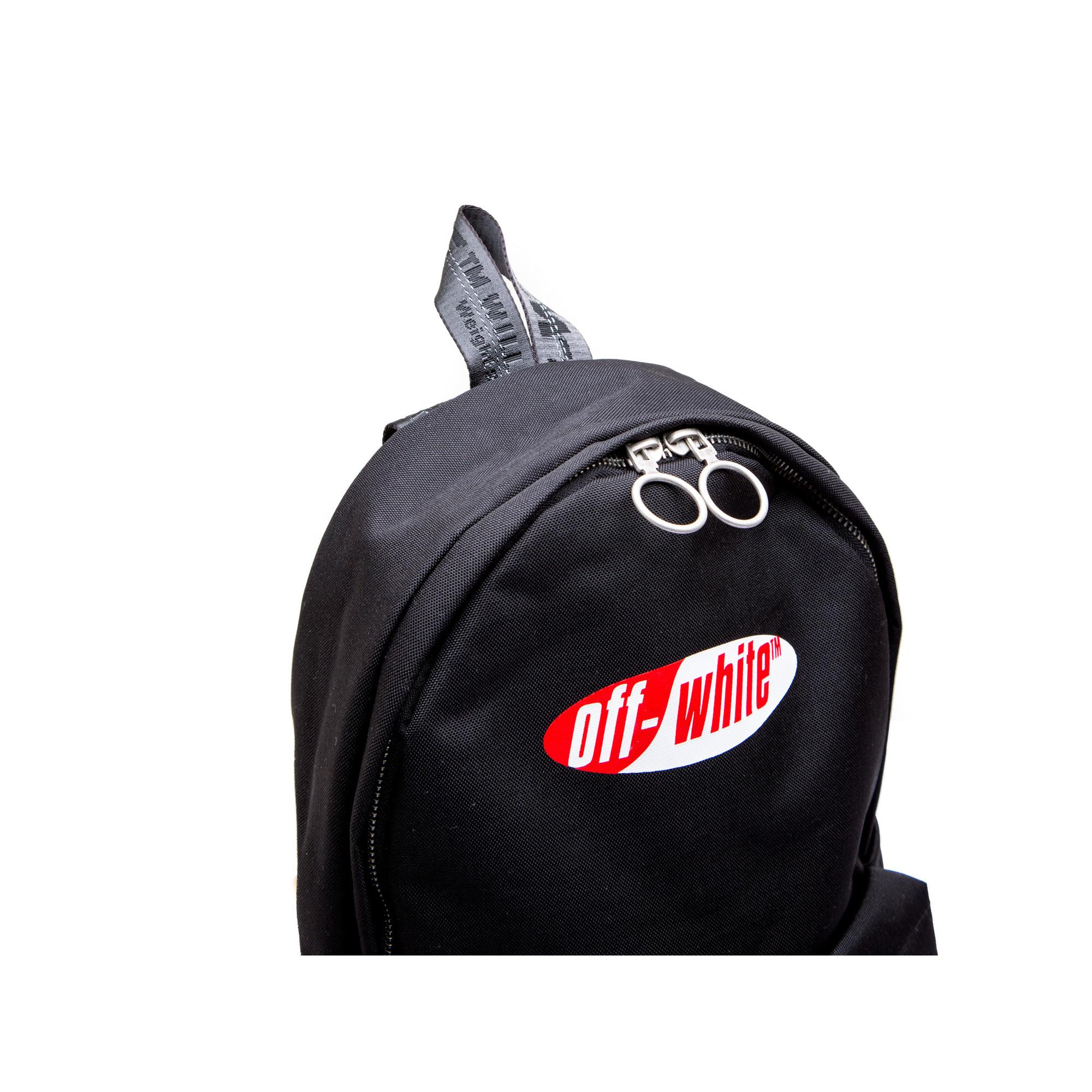 e925841fb0 ... Off White split logo backpack black Off White split logo backpack black  - www.derodeloper