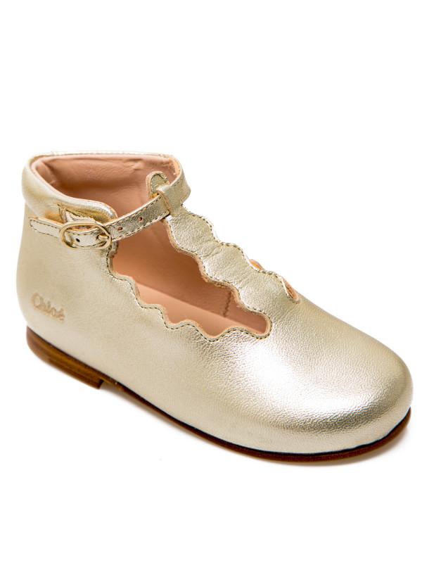 Chloe papillon boots goud