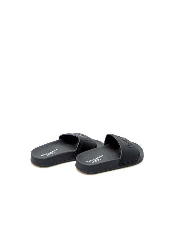 Dolce & Gabbana slides zwart