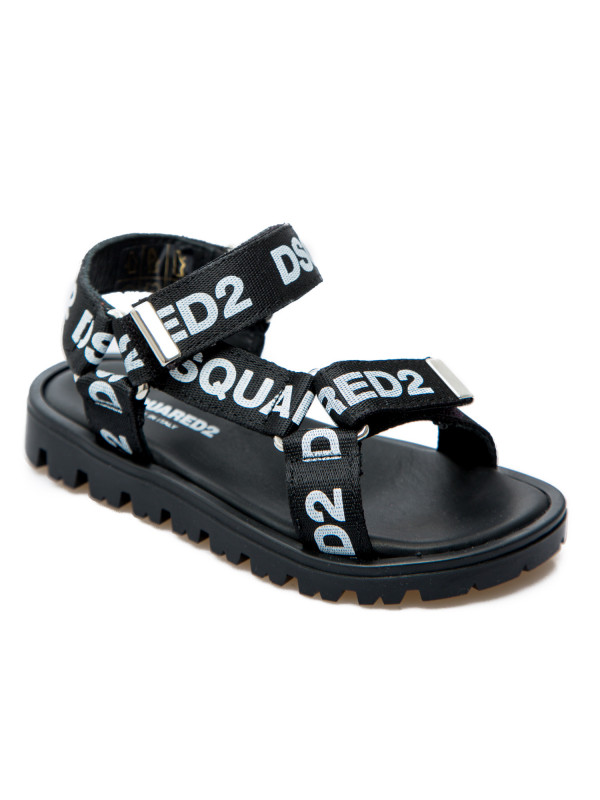 Dsquared2 calzature bambini zwart