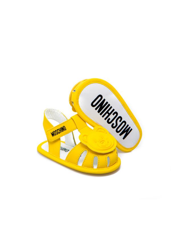 Moschino calzature bambini geel
