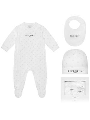 Givenchy Givenchy pyama + bib + beanie