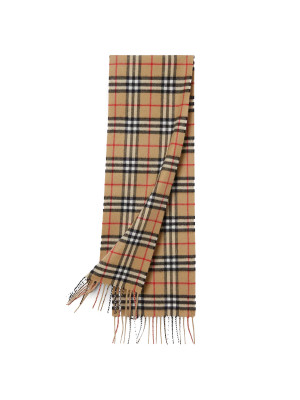 Burberry Burberry chk cash scarf