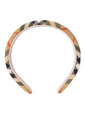 Burberry Burberry headband check