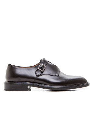 Monk Strap 2 Buckles black 101-00117