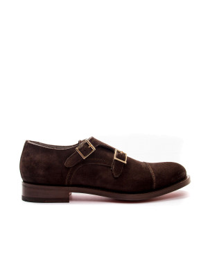 Santoni doppia brown 101-00125