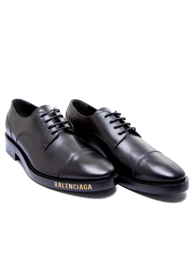 Balenciaga leather shoe Balenciaga  LEATHER SHOEzwart - www.credomen.com - Credomen