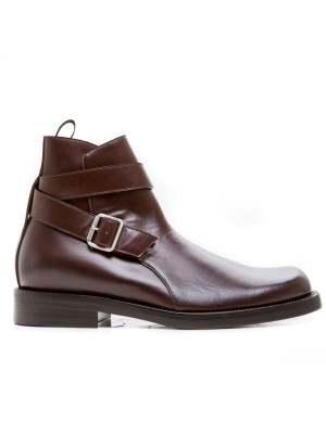 Balenciaga leather halfboot brown 102-00065